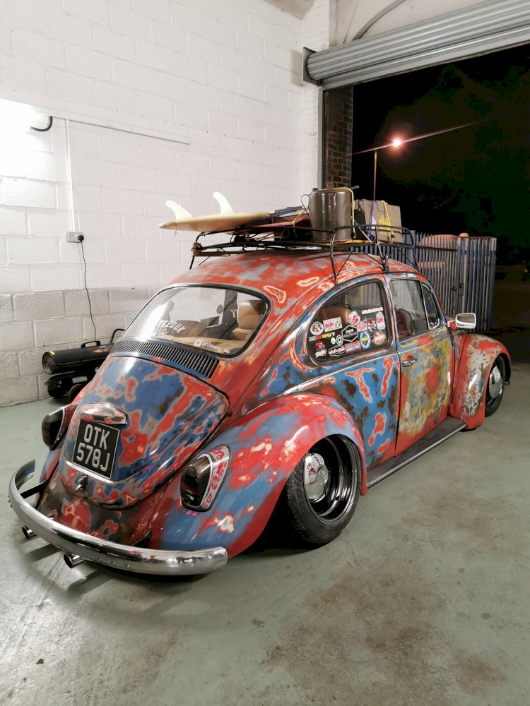 Harry's 1971 Beetle