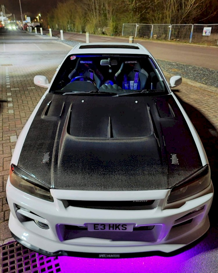 Marks - Nissan skyline R34 gtt