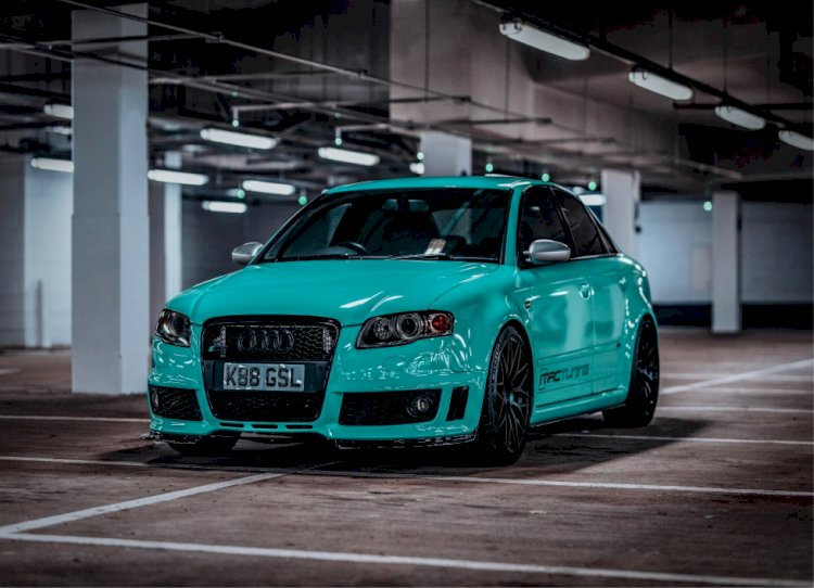 George - Audi Supercharged RS4
