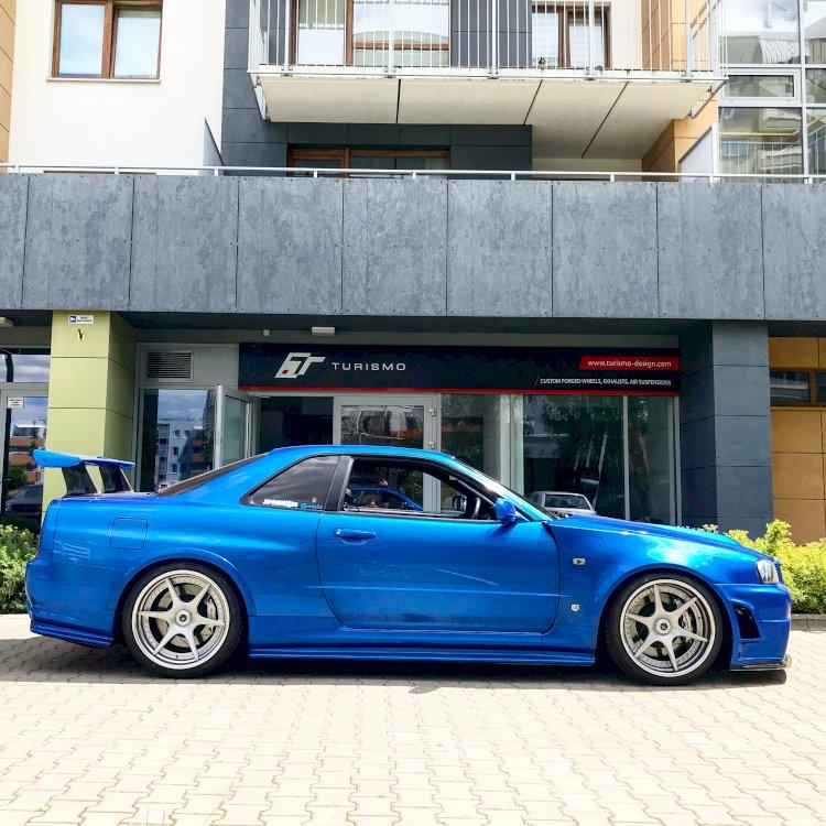Marcin - Nissan Skyline R34 GTR V-Spec