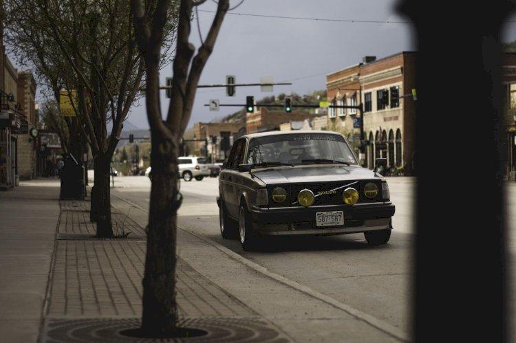 Eric Samuelson - 1991 Volvo 240 (Named: Ernie)