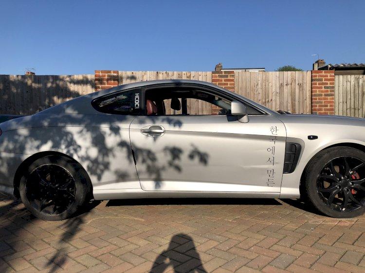 Steve Palmer - Hyundai coupe Atlantic