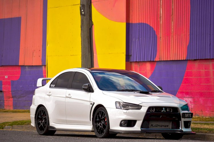Matthew Sheridan - 2011 Mitsubishi Lancer Evolution X MR