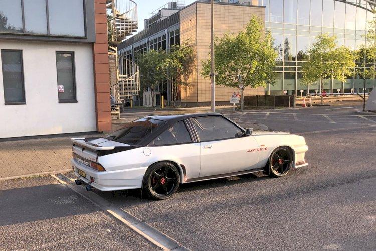 Paul - Opel Manta GTE - V8 Build