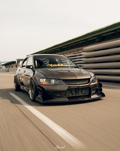 Takeru Shinno - Mitsubishi Lancer Evolution 7