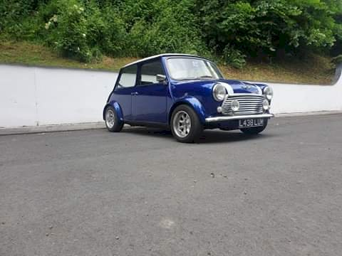 David Hickinbotham -  Classic Rover Mini