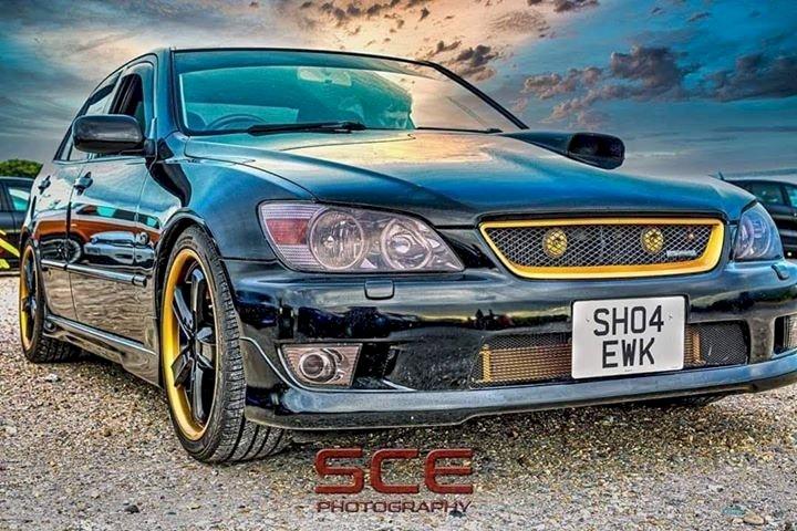 Rebecca Sweet - Lexus IS200