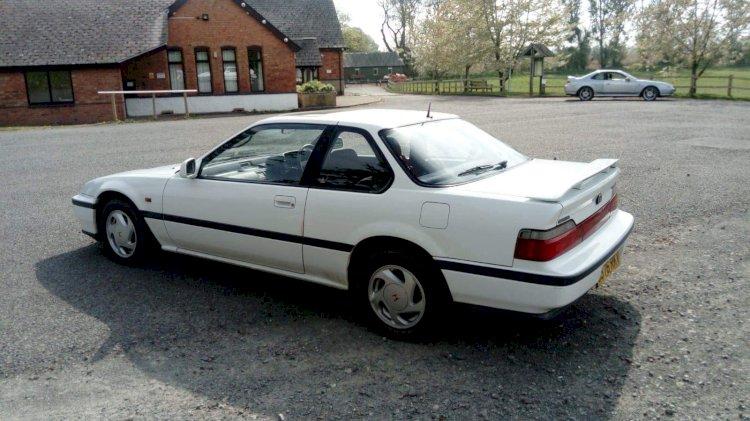 Alex Slater -  Honda Prelude 1991 2.0i16 4-WS