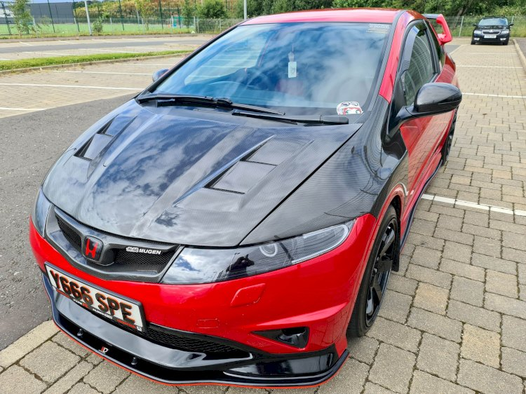 Ian Spence - Honda Civic FN2