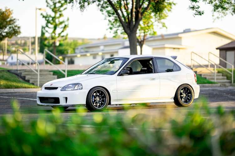 Don Vo - 2000 Honda Civic Hatchback EK