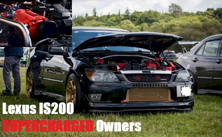Welcome to LEXUS IS200 Supercharged Owners
