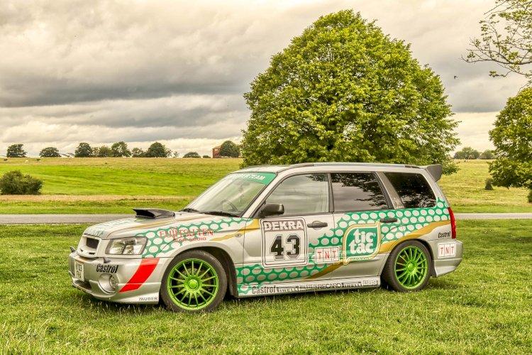 Jonny Cahill -  Subaru Forester XT SG5 EJ20 Turbo