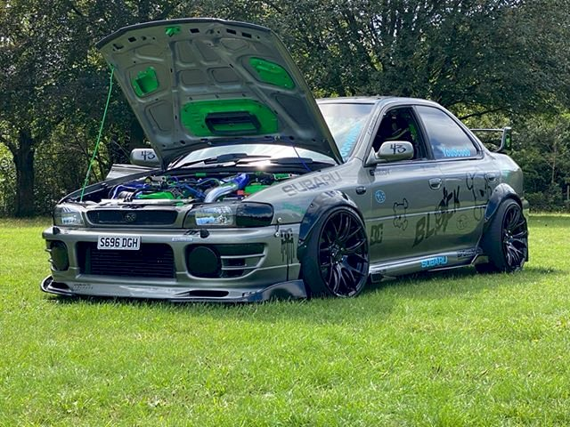 Simon Goksal - Subaru Impreza uk 2000 2 litre