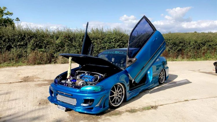 Laurence Rose - Honda Civic ej2 Coupe
