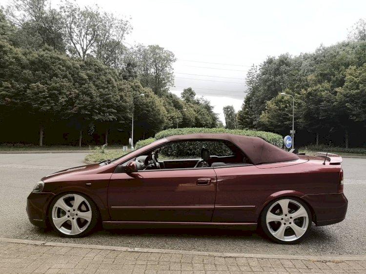 Dave Cashmore -  2001 Vauxhall Astra Bertone Convertible
