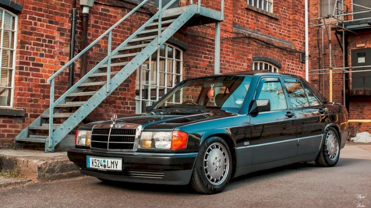 John Choppin  - 1992 Mercedes-Benz w201 190e