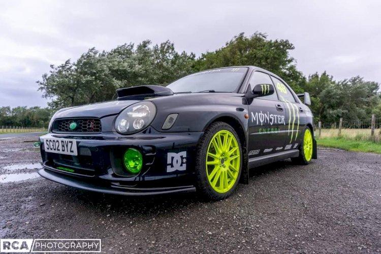 Ian Scooby Eccles - Subaru wrx 2ltr bug eye