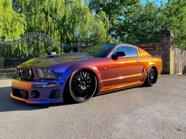 Ian Tasker - 2008 Ford Mustang Roush