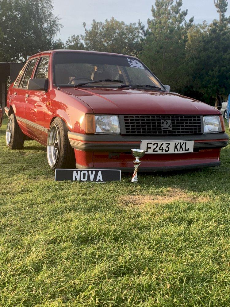 George's Vauxhall Nova 1.2L saloon