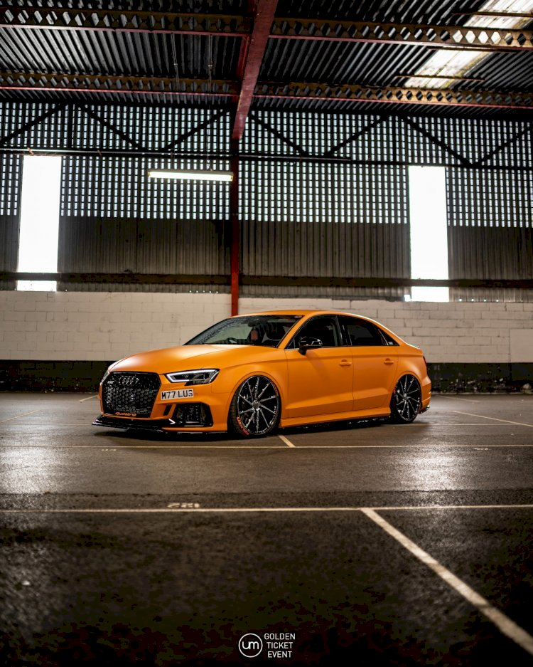 Martin & Luisa Knight - Bagged Audi RS3