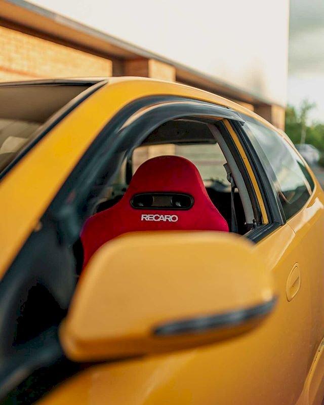 Callum Roberts - Rio Yellow Honda Civic Ep2