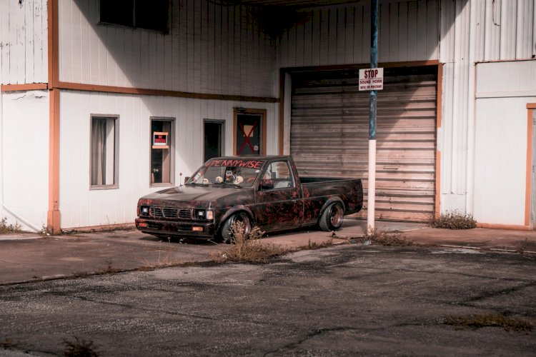 Andrew Luciani - 1997 Nissan hardbody 2wd