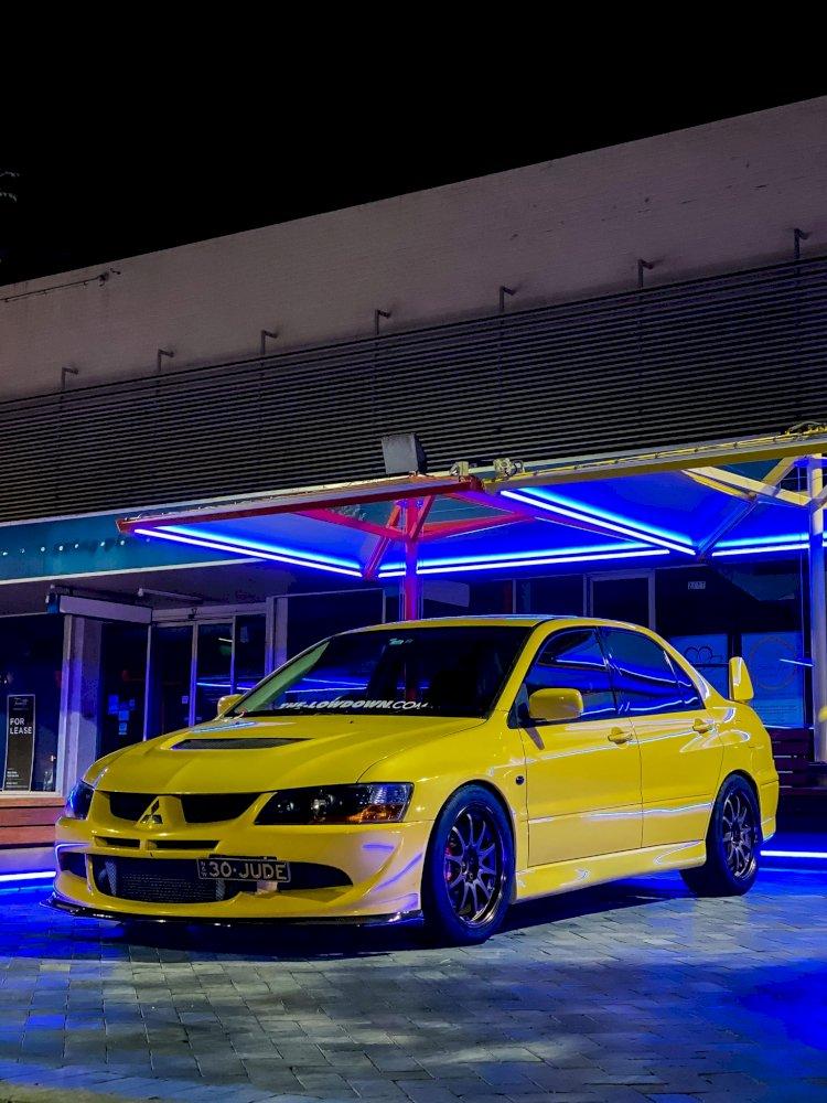 Jude Malaga - Mitsubishi Evolution 8