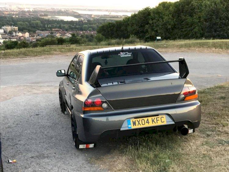Scott's - Mitsubishi evo 8 mr fq320