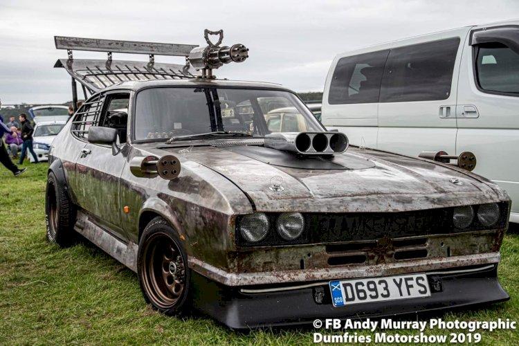 Jordan clowes - Mk3 Ford Capri aka FRANKENSTEIN
