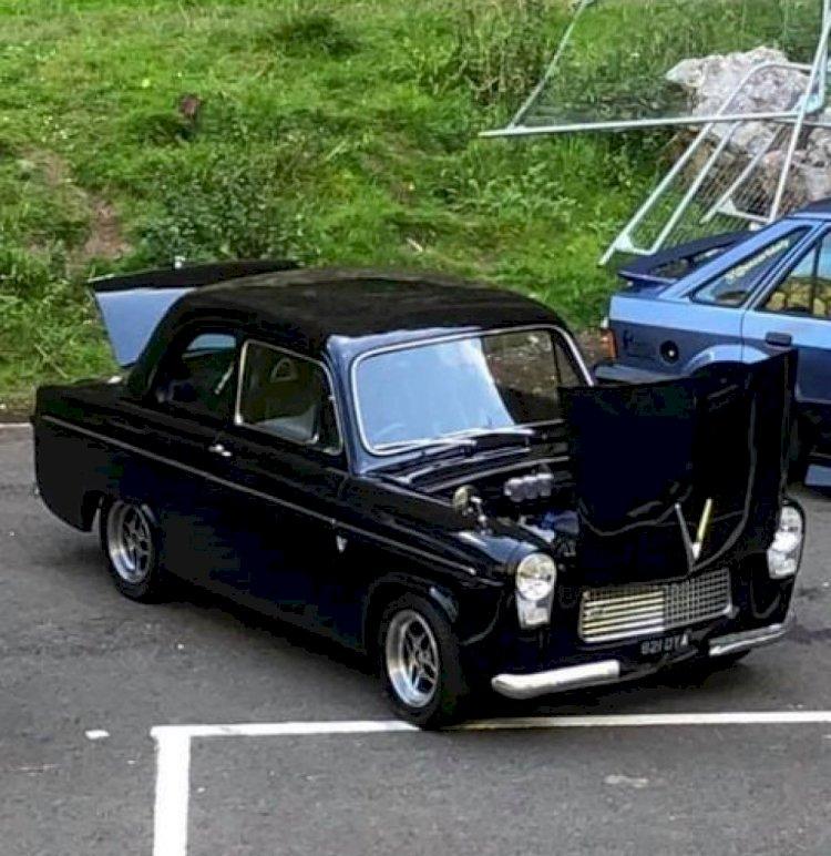 Carl Skingley  - 1959 Ford Anglia 2ltr Zetec