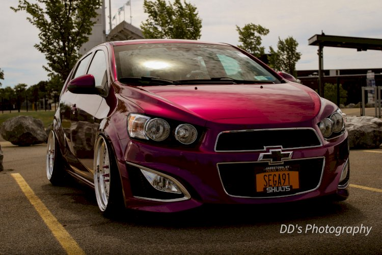 Bruce Bruce  - 2016 Bagged Chevy Sonic RS