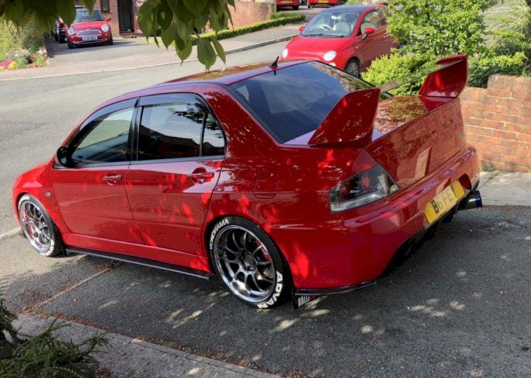 Steve Beefy Botham  - Mitsubishi Evo 9 GT