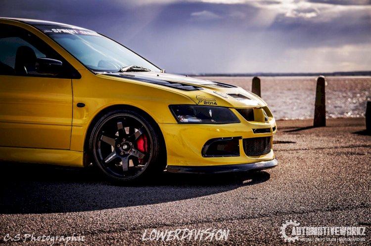 Danielle Coppin  - Mitsubishi Evolution 8 GSR