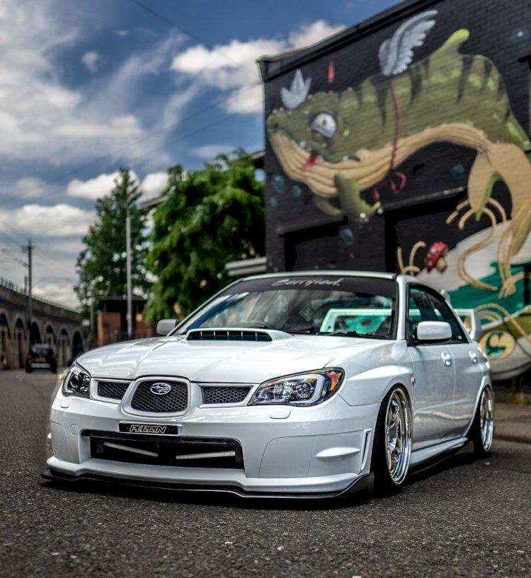 Rory Mcewing - Subaru Impreza WRX STi Type UK