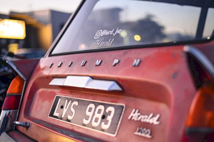 James Evangeli  - Triumph Herald Estate