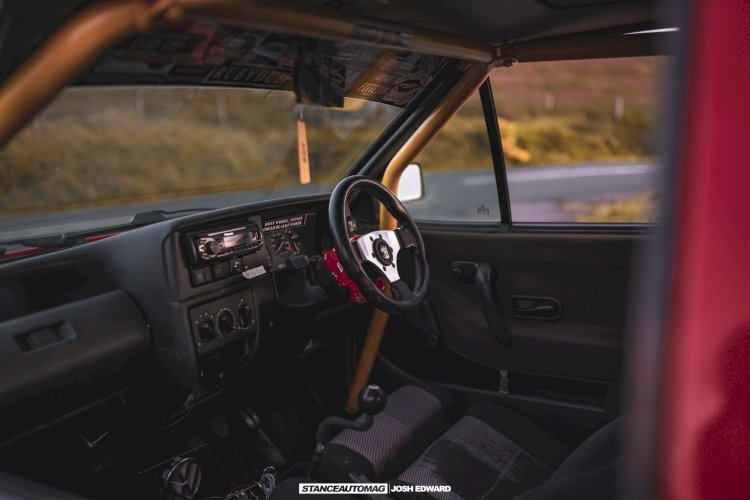 Luke Gerrard - 1993 Polo Coupe Modified G40