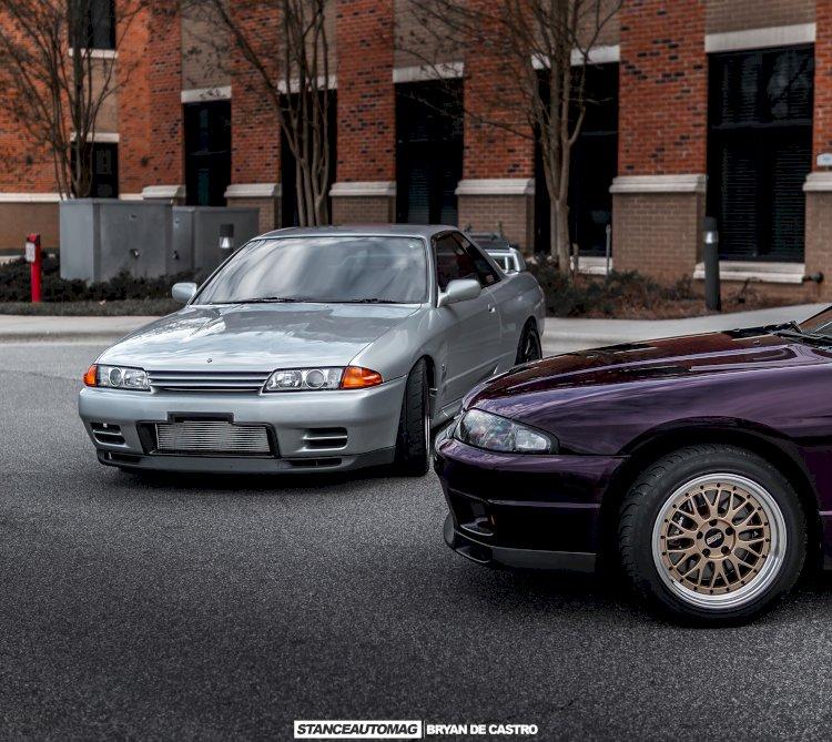 Cartier and Chris Kirby - 1995 R33 GTR / 1991 R32 GTR