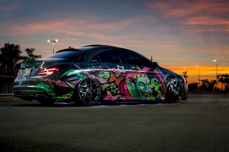 Rob Ferro  - 2017 Mercedes-Benz CLA 250 4Matic Sport AMG package