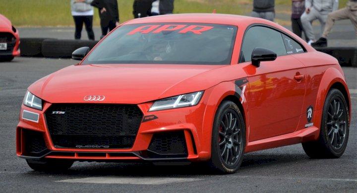 Paul Cameron  - Audi TTRs 8s mk3