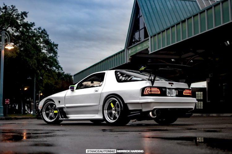 Cristian Tyrell - 1988 Mazda RX-7 10th Anniversary Edition