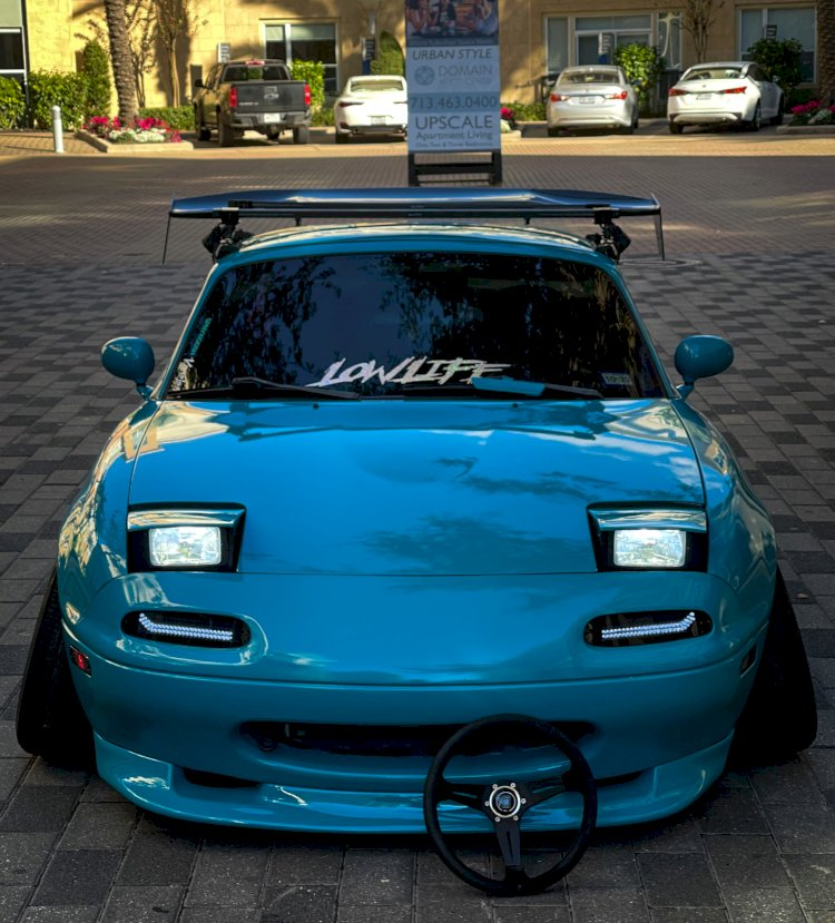 Rafael Acosta-  Mazda Miata 1991