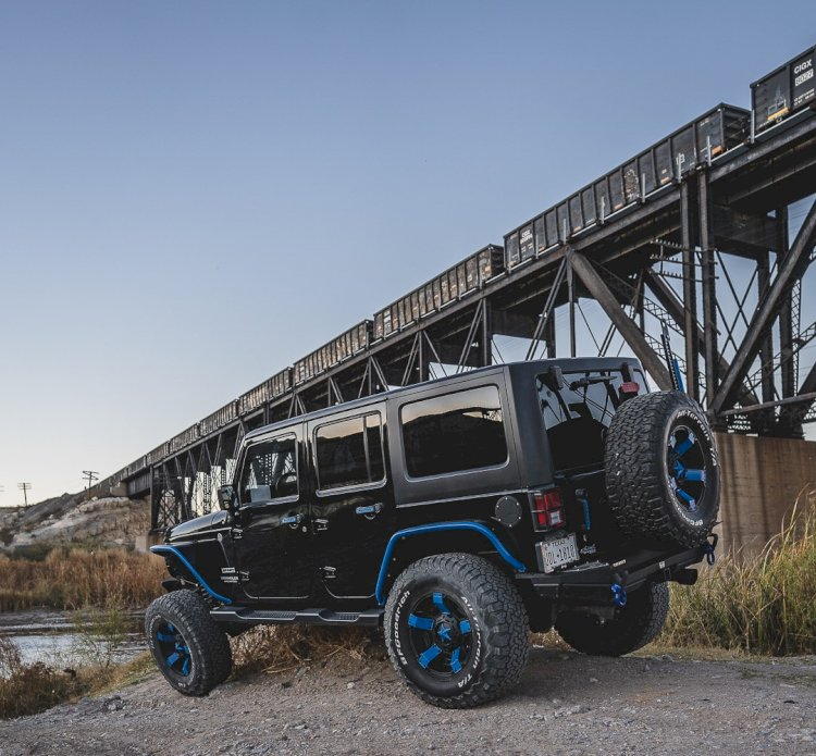 David Kelley - 2016 Jeep wrangler