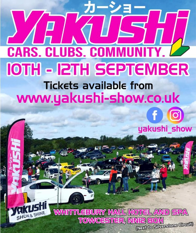 "Yakushi ""your end of season JDM event"""