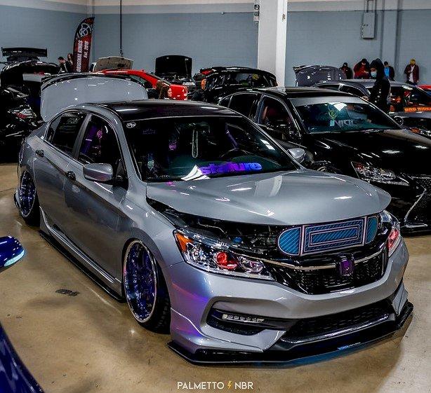 Rob Bollinger - 2017 Bagged Honda Accord Sport