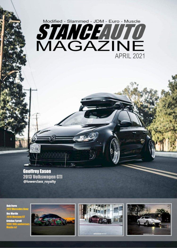 Stance Auto Magazine Mays Edition 2021