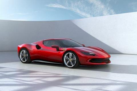 Ferrari Unveiled Newest Mid-Engine Super car