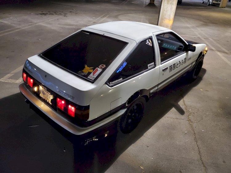 Ray Ramaglia  - 1986 Toyota Corolla GT-s