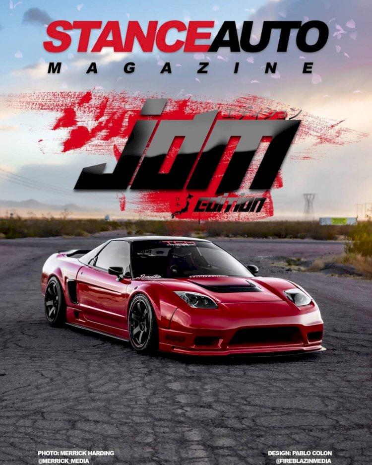 Stance Auto Printed Magazine JDM  2021