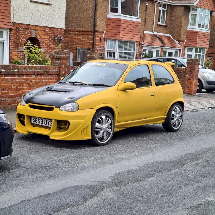 Stephen Chapman - CIVIC and Corsa Max power style