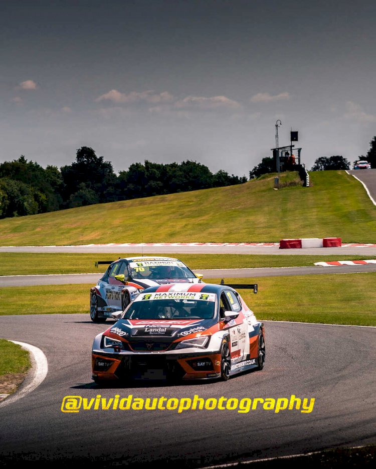 Cupra Leon TCR #37 and #70 | Front three quarter poster